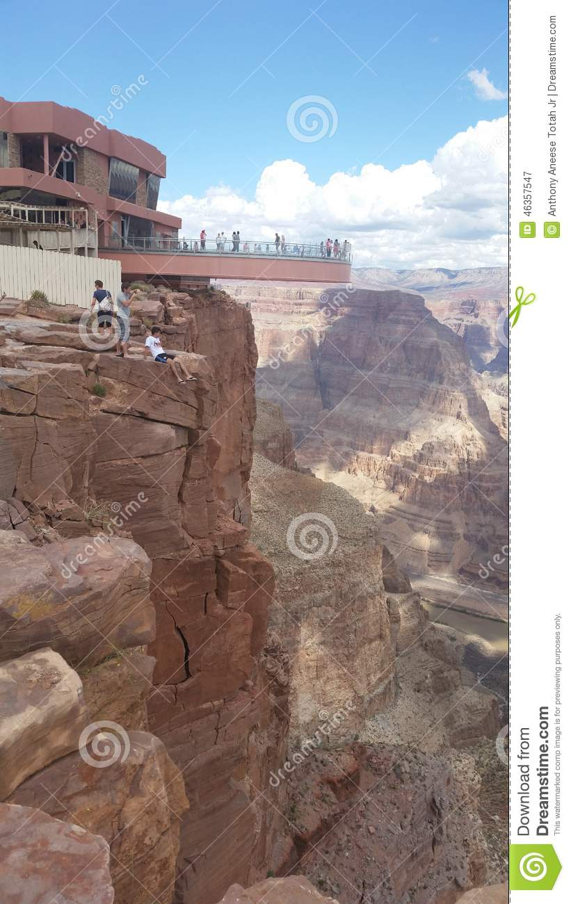 Skywalk At The Grand Canyon Editorial Photography Image Of