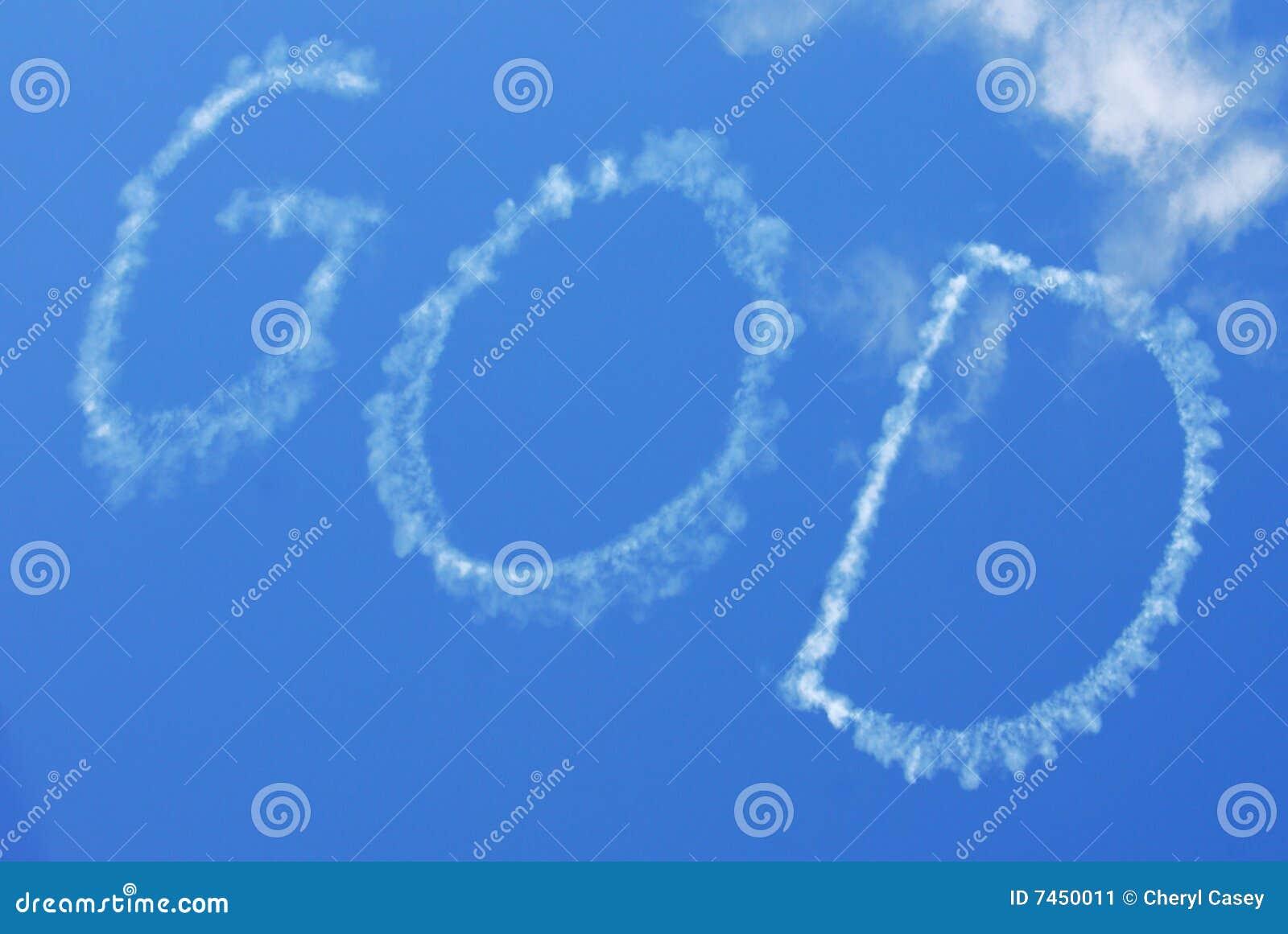 Skywritten Gott