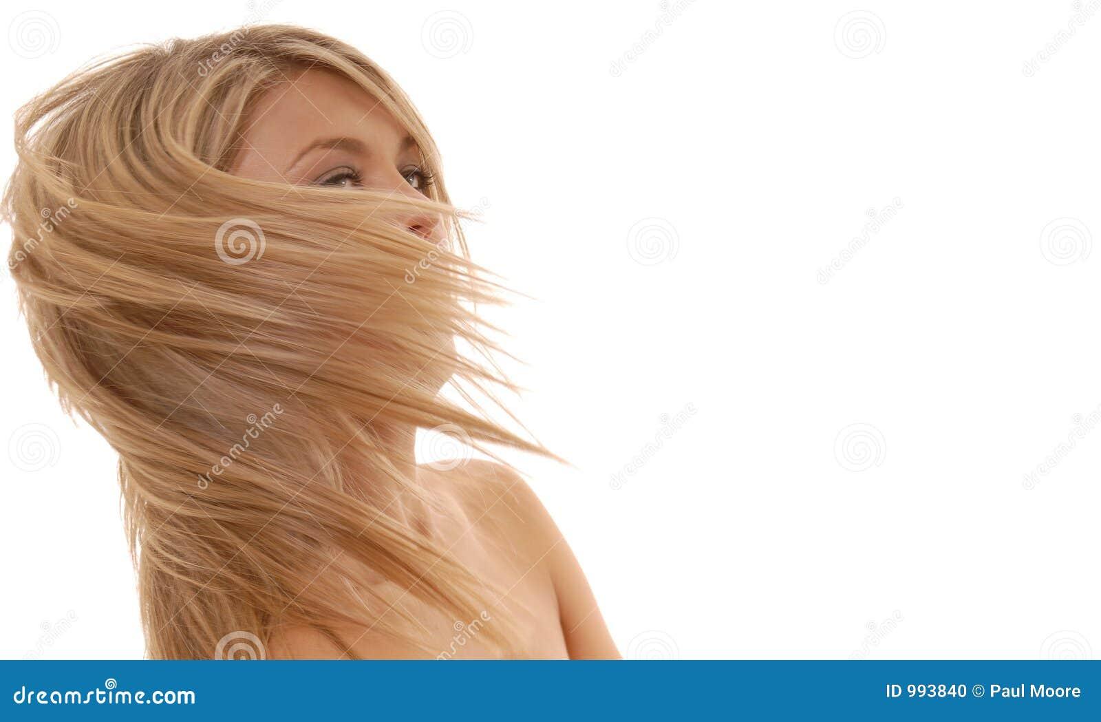 Slående hår