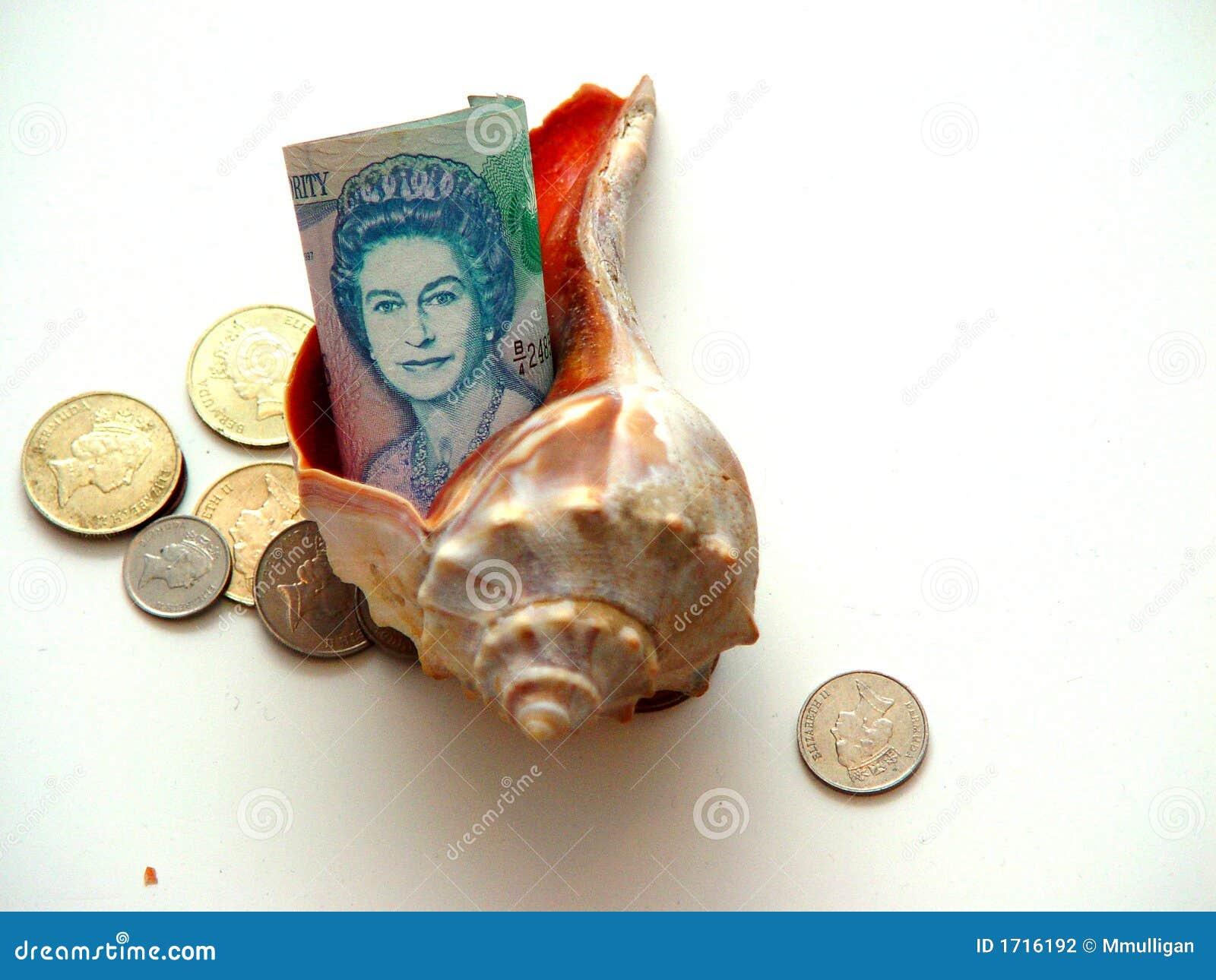 Slågen in bermuda valuta