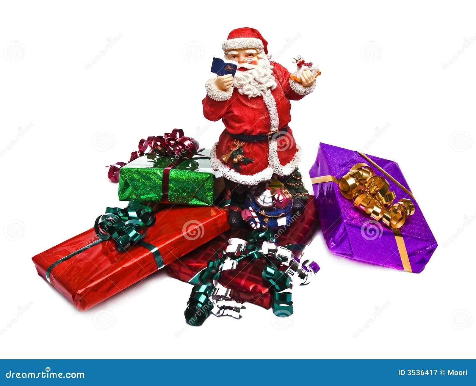 Slågna in julgåvor
