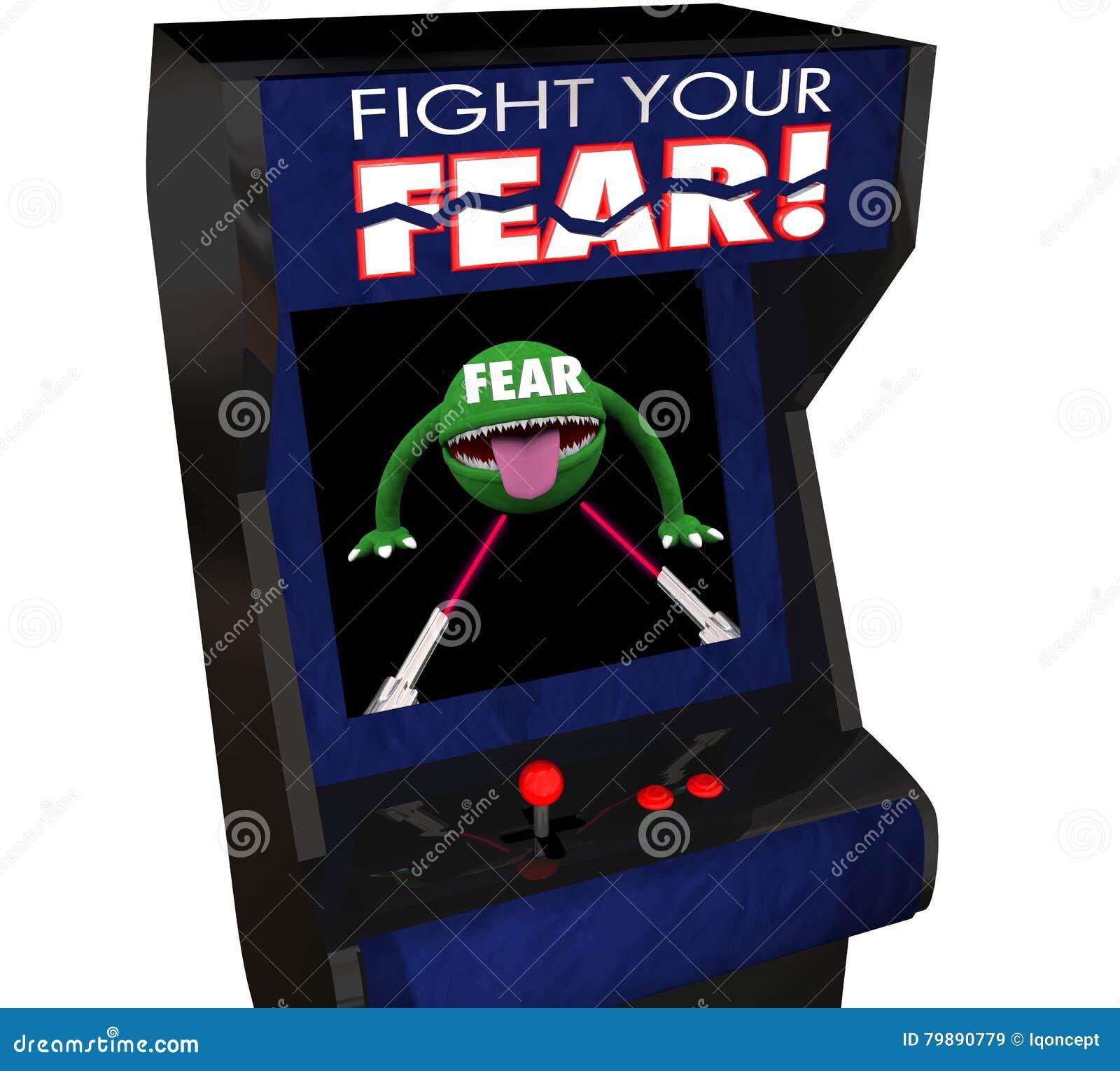 Slåss din kurage Arcade Game för glans för skräcktakten rädda