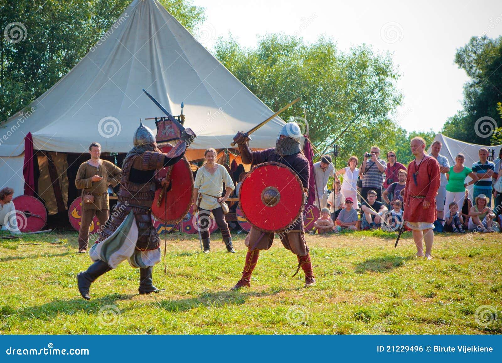 Slåss medeltida