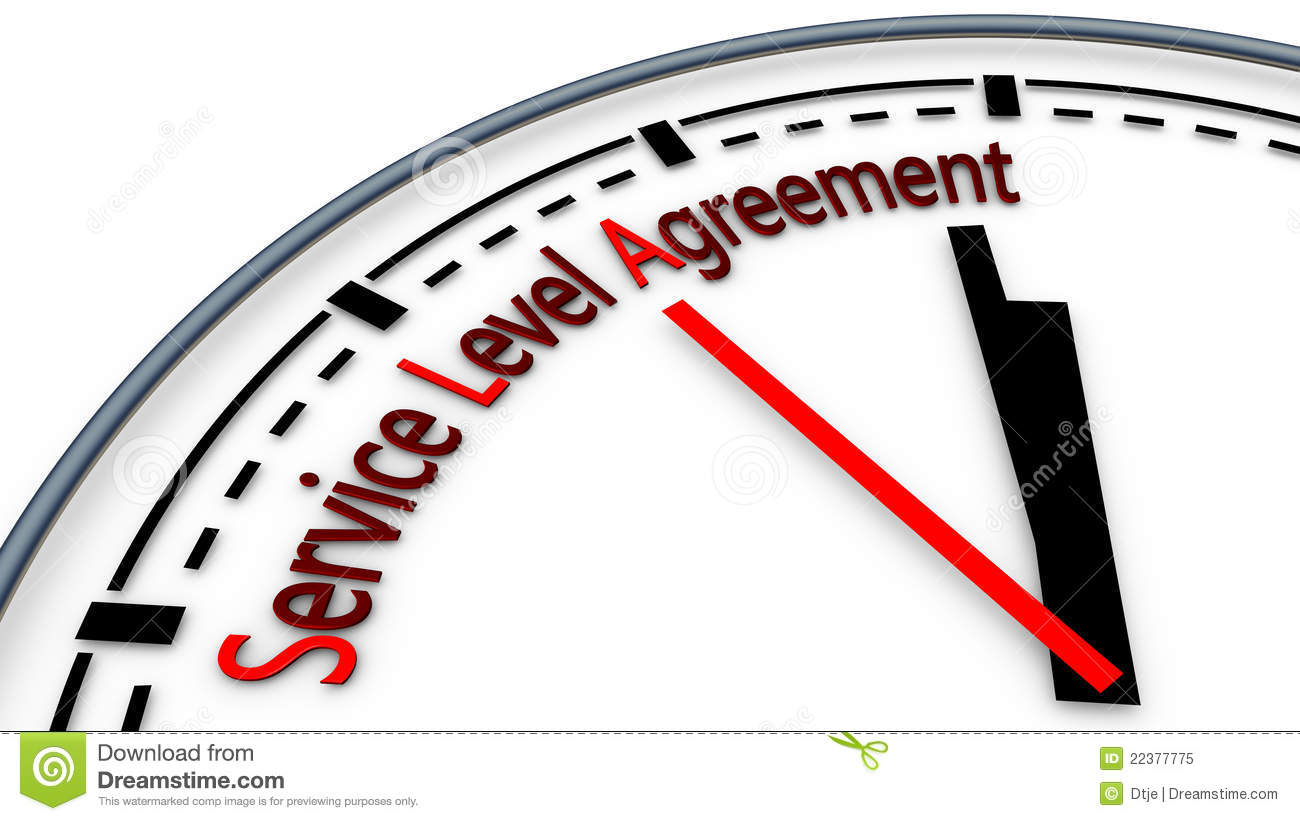 SLA Service Level Agreement Royalty Free Photo Image – Service Level Agreement