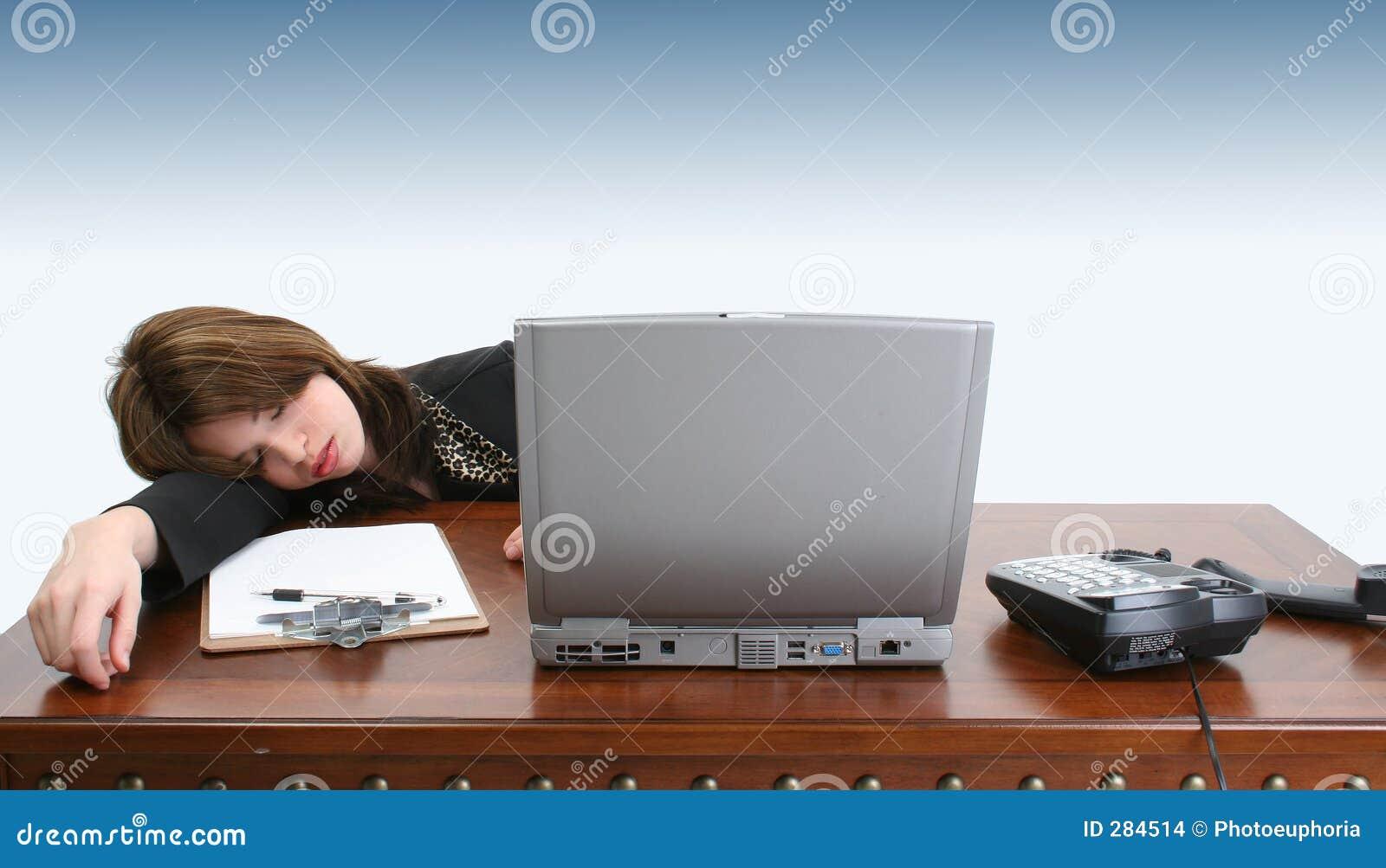 In slaap op het Werk