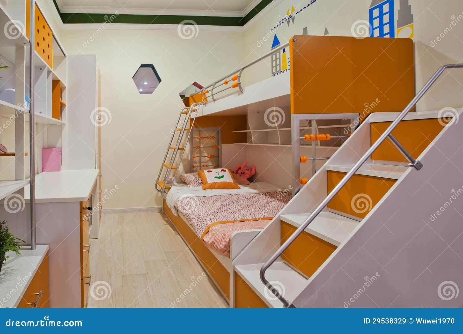Slaapkamer 04 van kinderen stock afbeelding afbeelding bestaande uit bureau 29538329 - Bureau kinderen ...