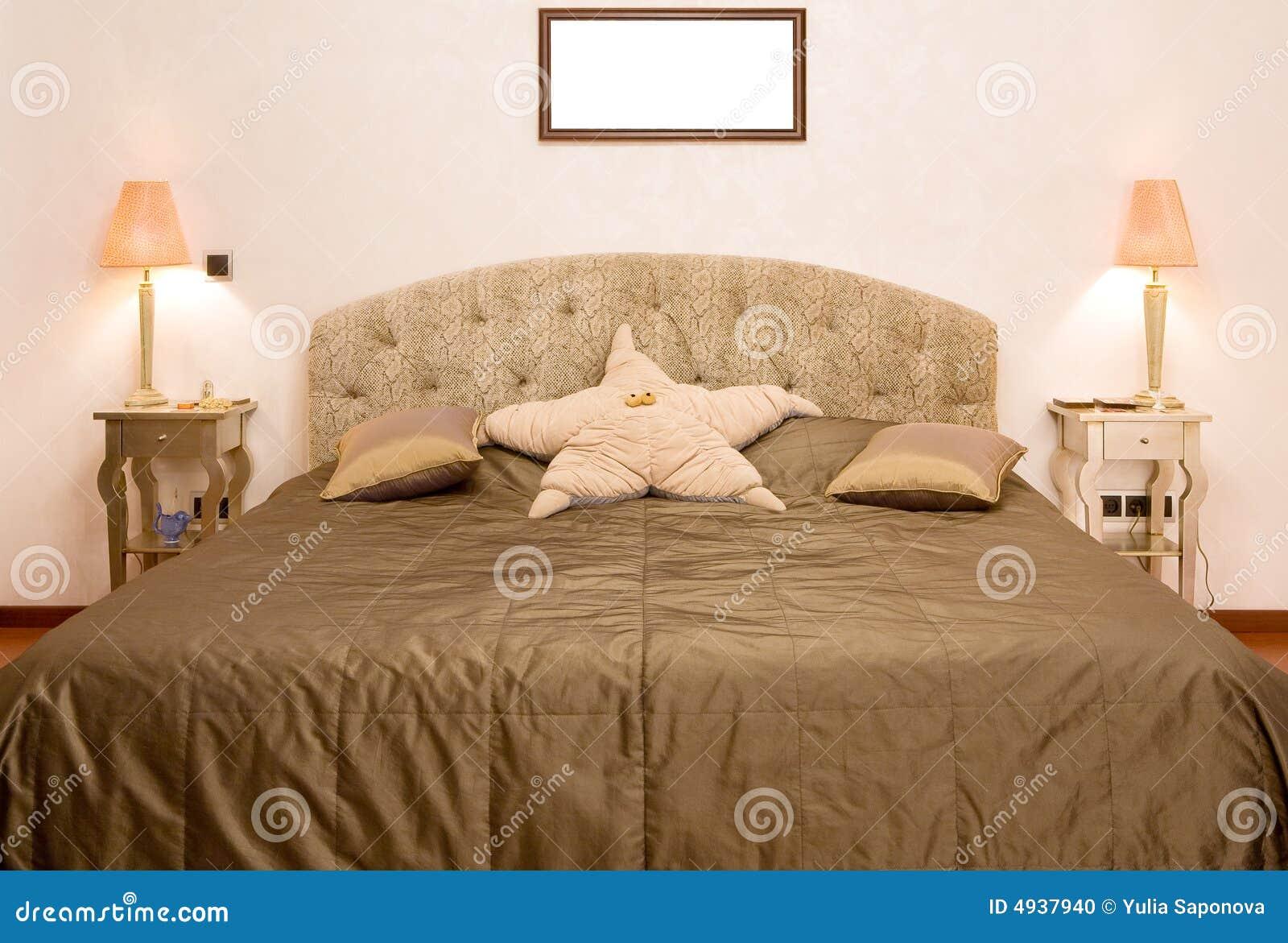 Slaapkamer stock foto afbeelding bestaande uit modern 4937940 - Beeld decoratie slaapkamer ...