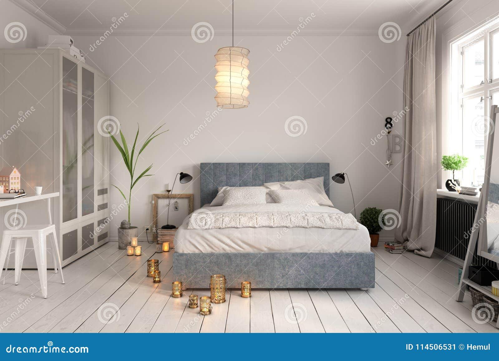 slaapkamer binnenlands ontwerp 3 het teruggeven van d