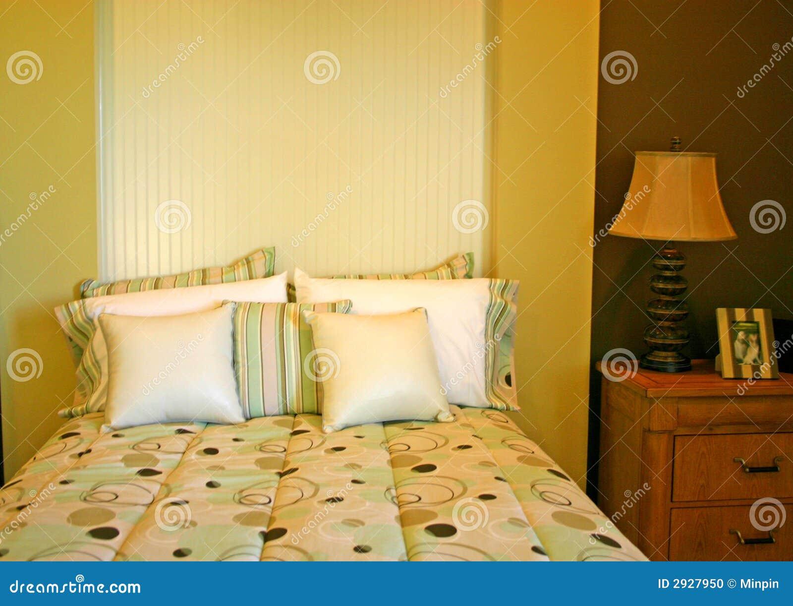 Slaapkamer met Cirkels