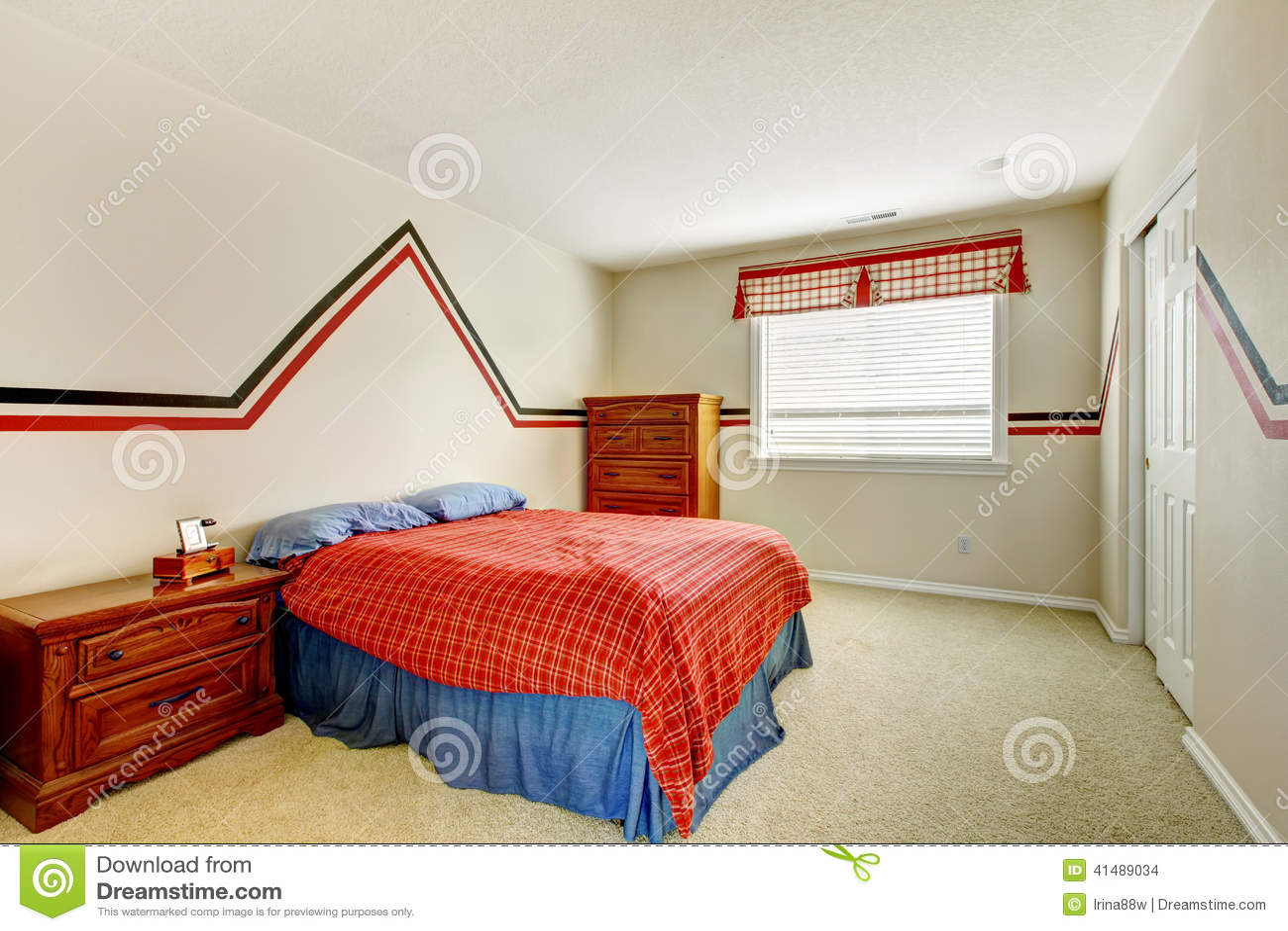 Rode slaapkamer muur ~ [spscents.com]