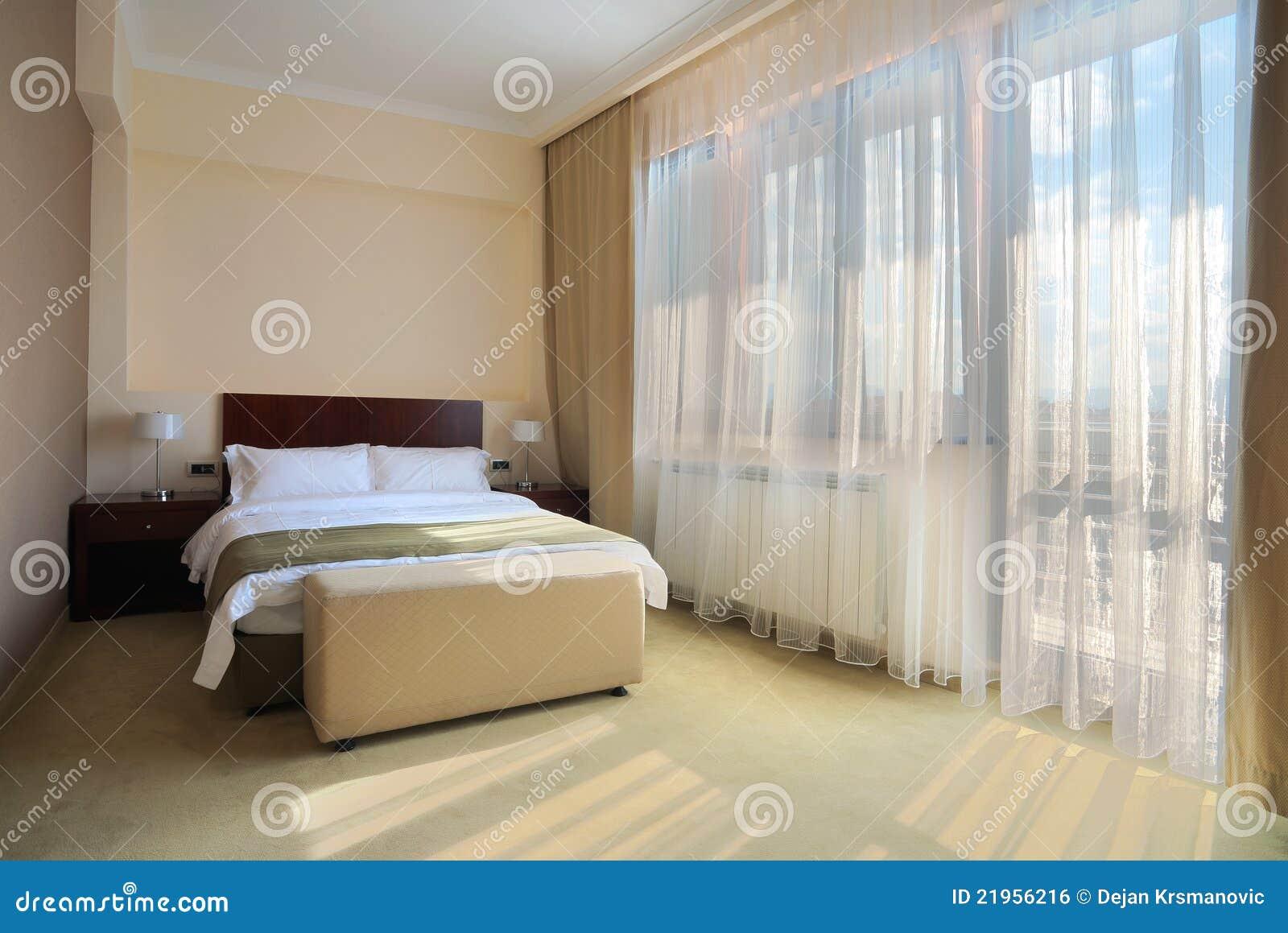 Afbeelding Voor Slaapkamer : Slaapkamer Voor Twee Royalty-vrije Stock ...