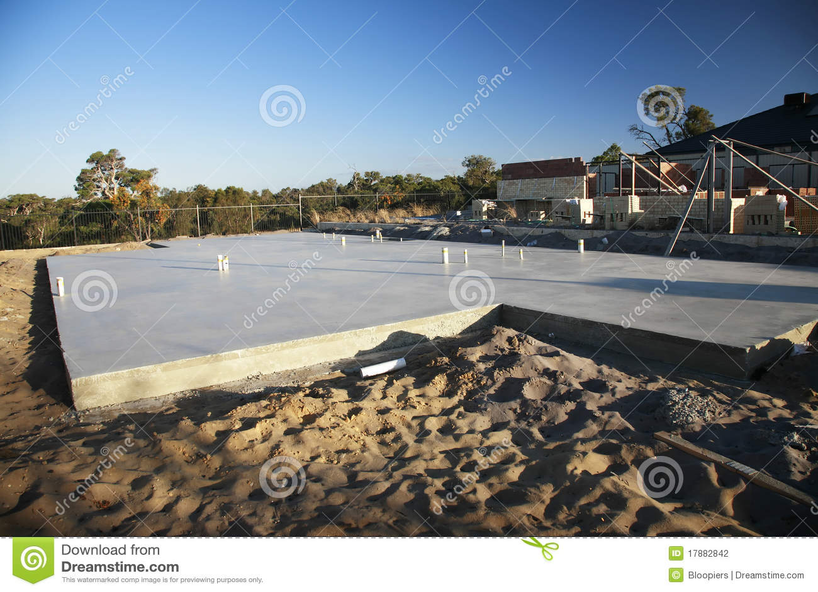 Slab On Ground Stock Photo Image Of Materials Stone