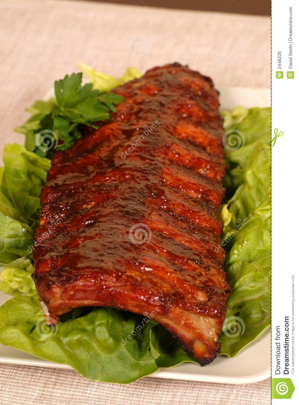how to cook a slab of ribs