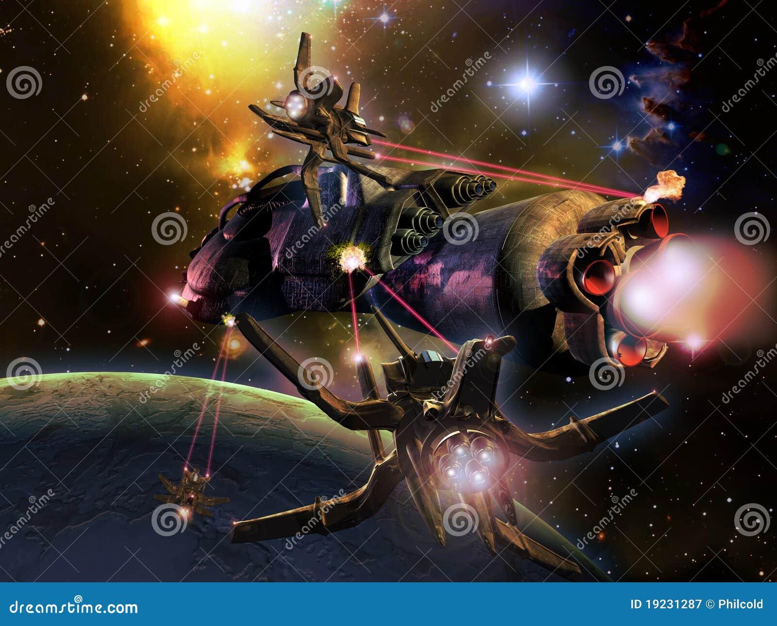 Slag in ruimte