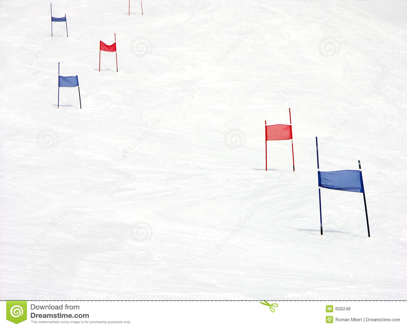Download Slalom hillside stock photo. Image of slalom, skiing, alpine - 600248