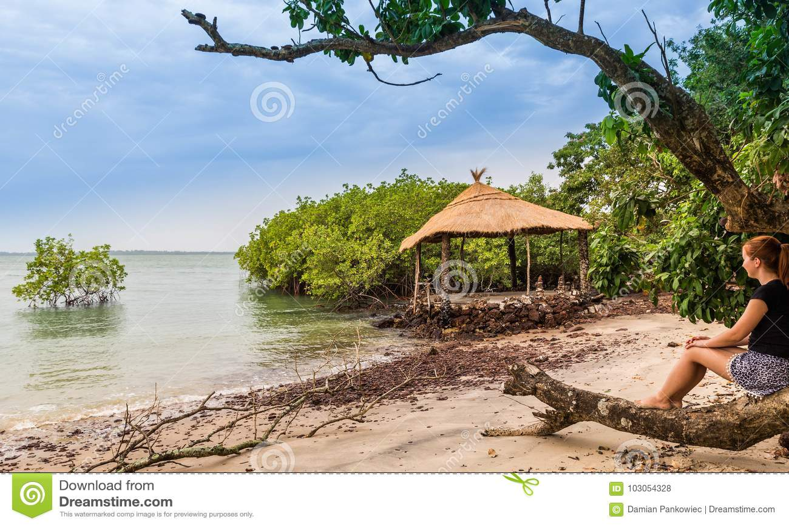 West africa Guinea-Bissau Bijagos islands