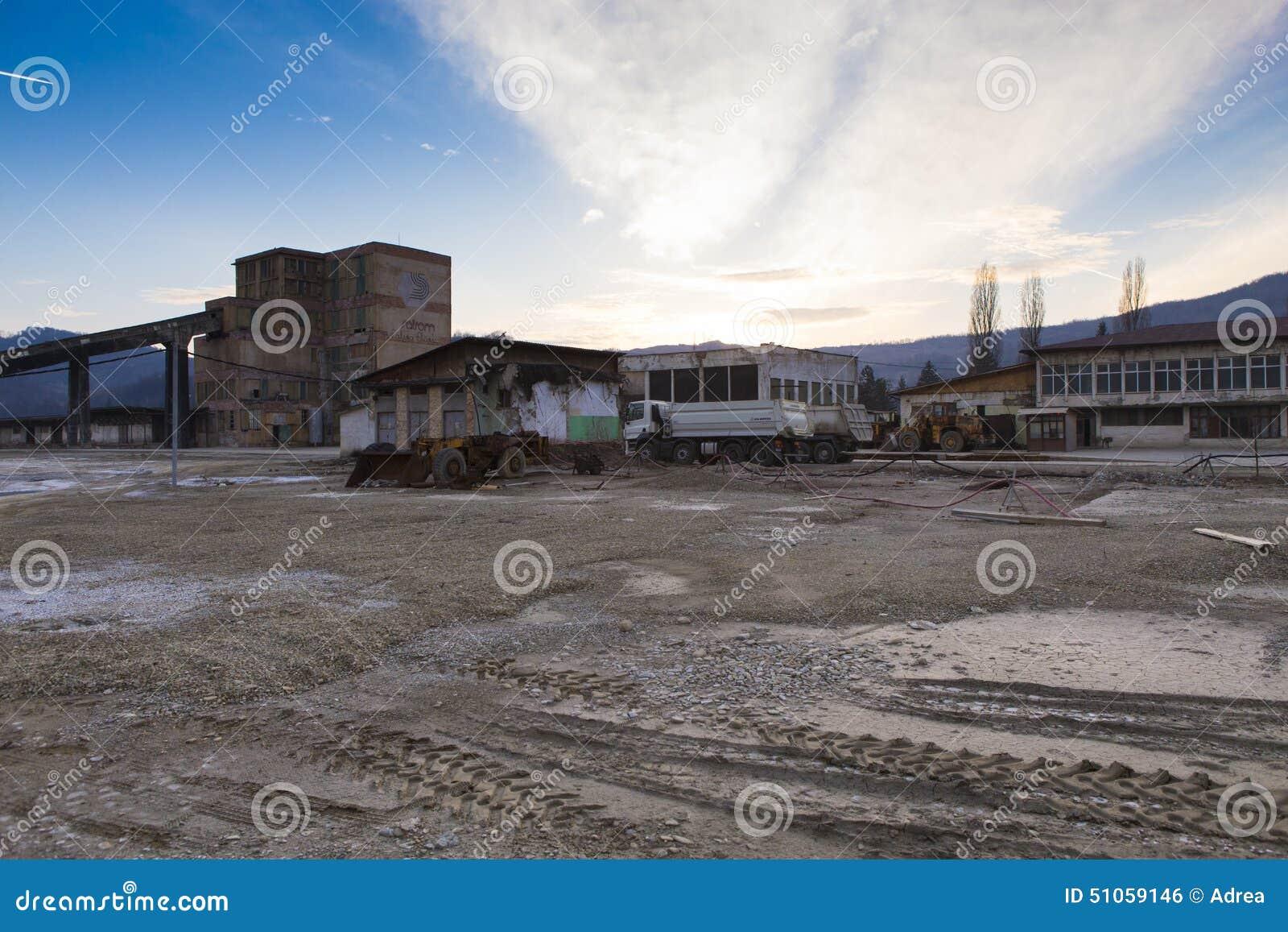 Slanic Prahova soli niecka - ruiny