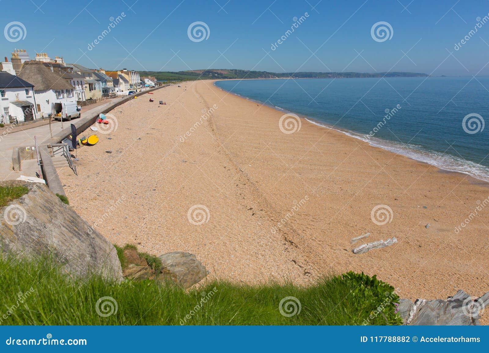 Slapton Sands beach Devon UK
