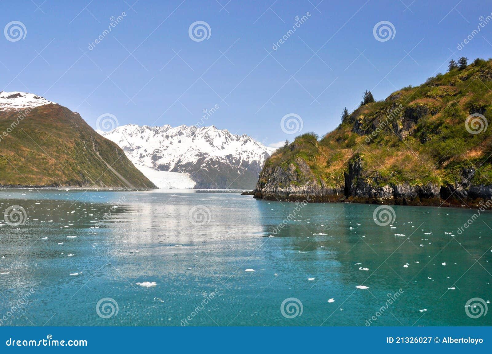 Slate Island Aialik Bay Kenai Fjords Np Alaska Royalty