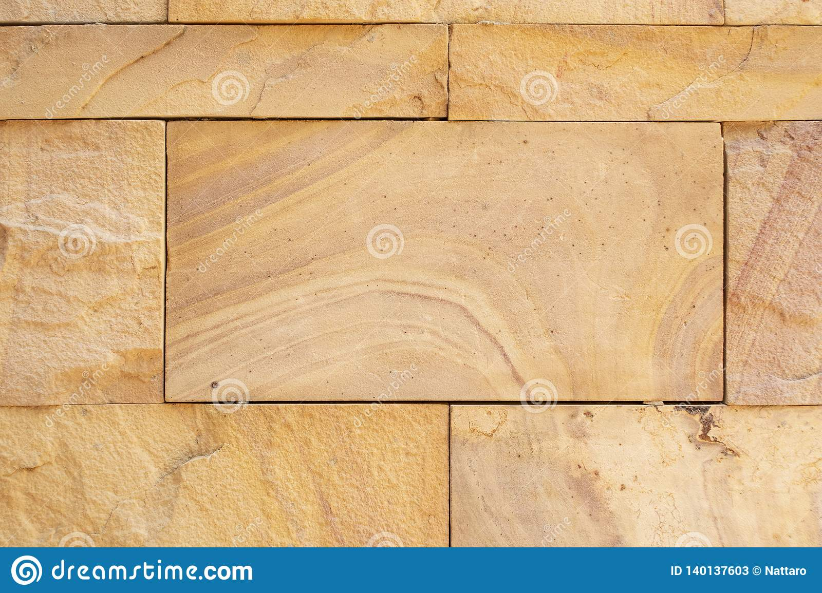 Slate Marble Split Face Mosaic Pattern And Background Brick