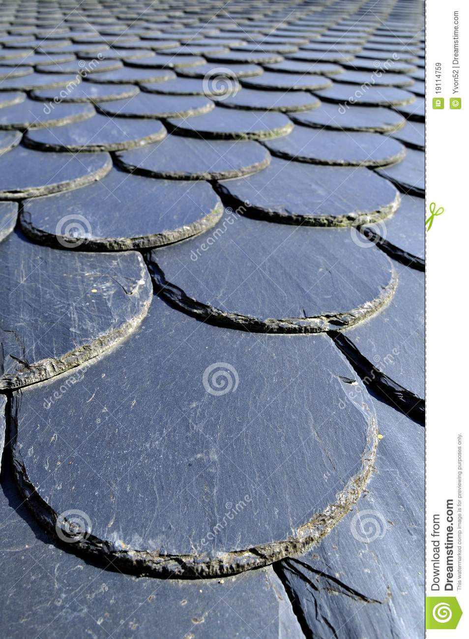 Slate Roof Stock Image Image Of Detail Black Roof