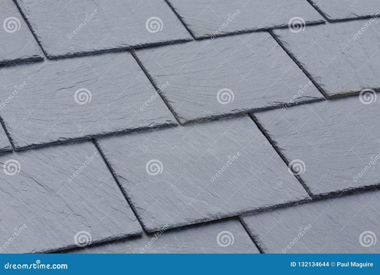 Slate roof tiles stock photo  Image of backgrounds