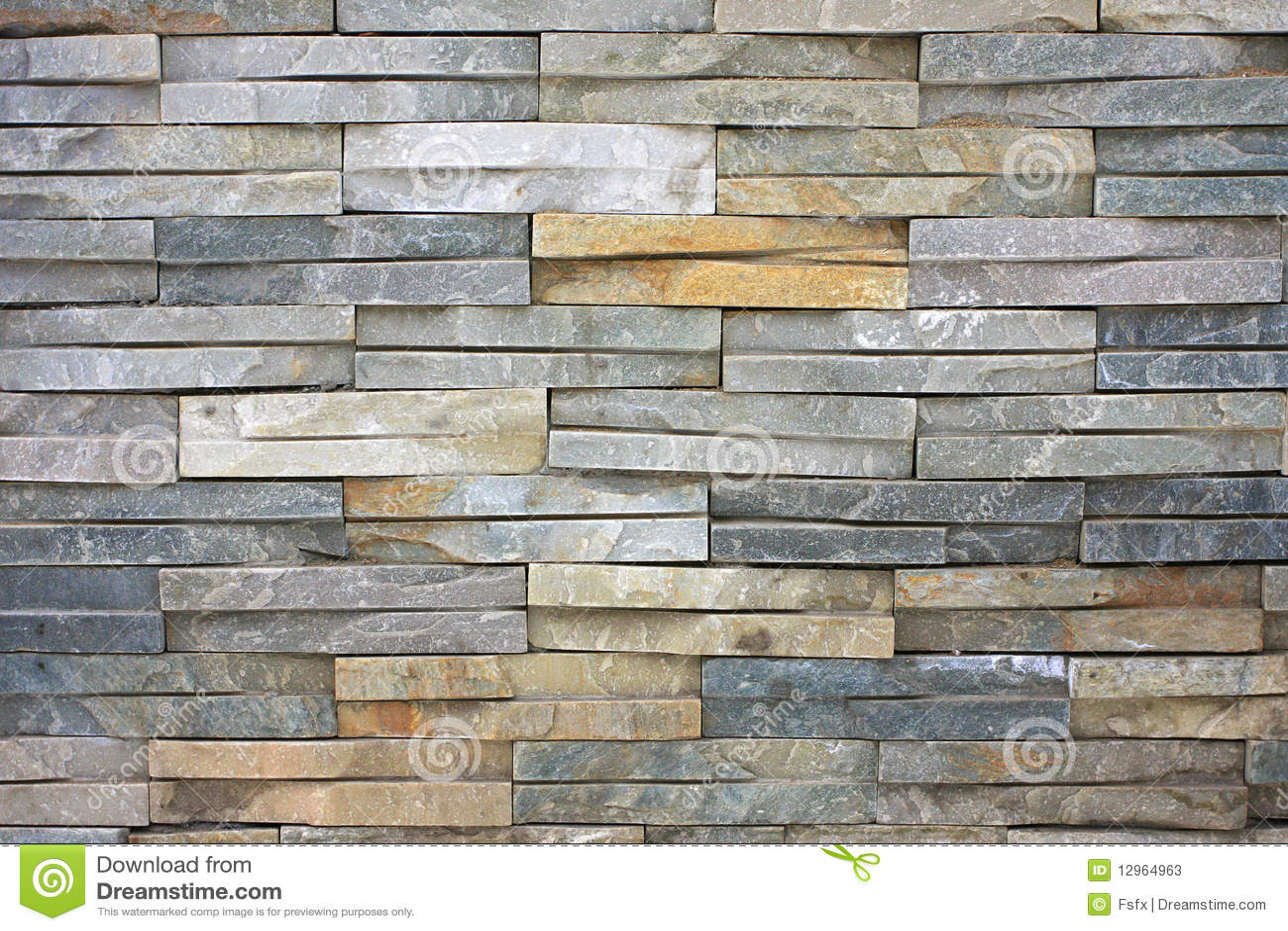 Slate Stone Wall Stock Photos Image 12964963