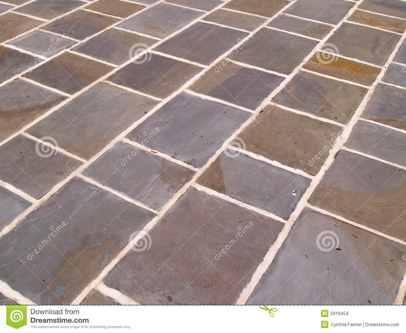 Slate Kitchen Floor Tiles Slate Floor Tile Stock Photos Image 15170493