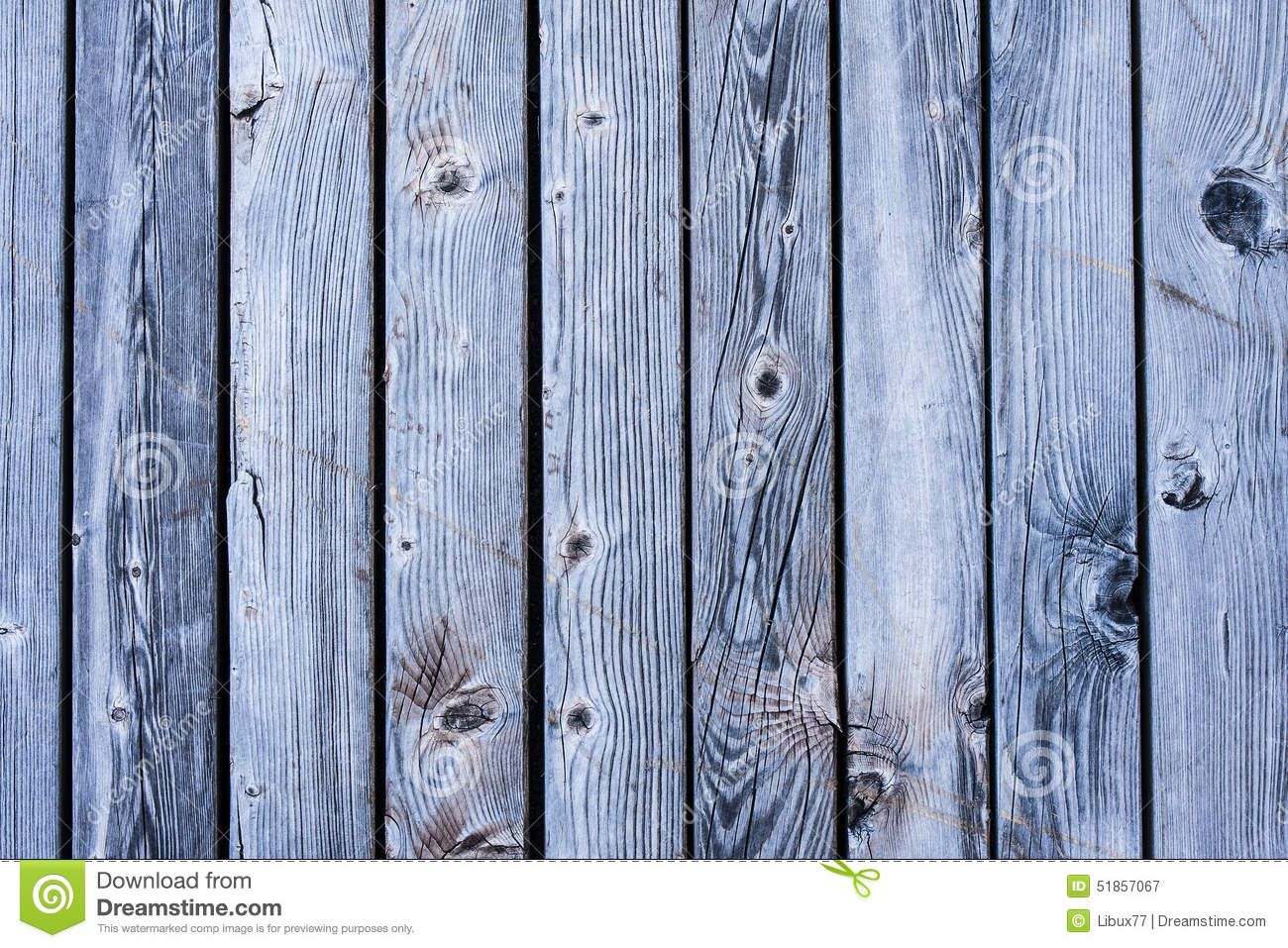 Slats Bright Blue Wood Texture Background Stock Photo