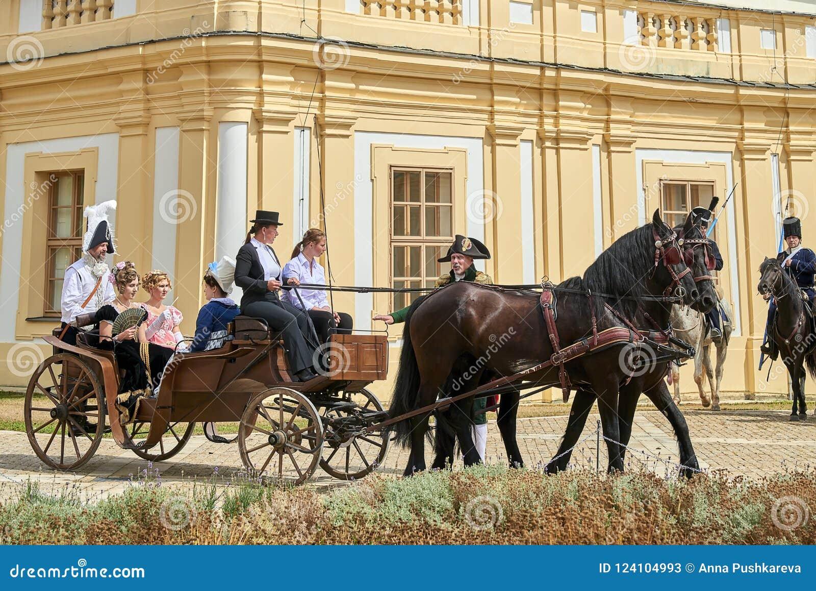 Riding ladies napoleon horsevisual /