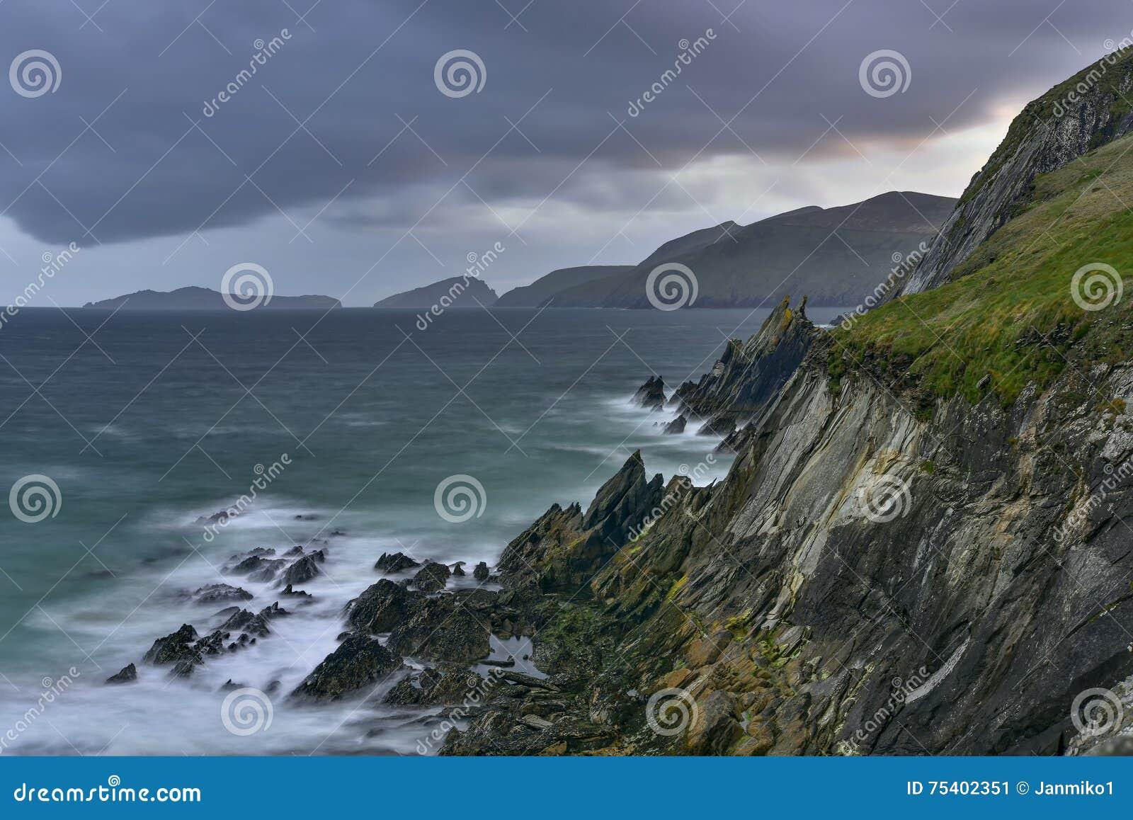 Slea朝向幽谷半岛,凯利,爱尔兰