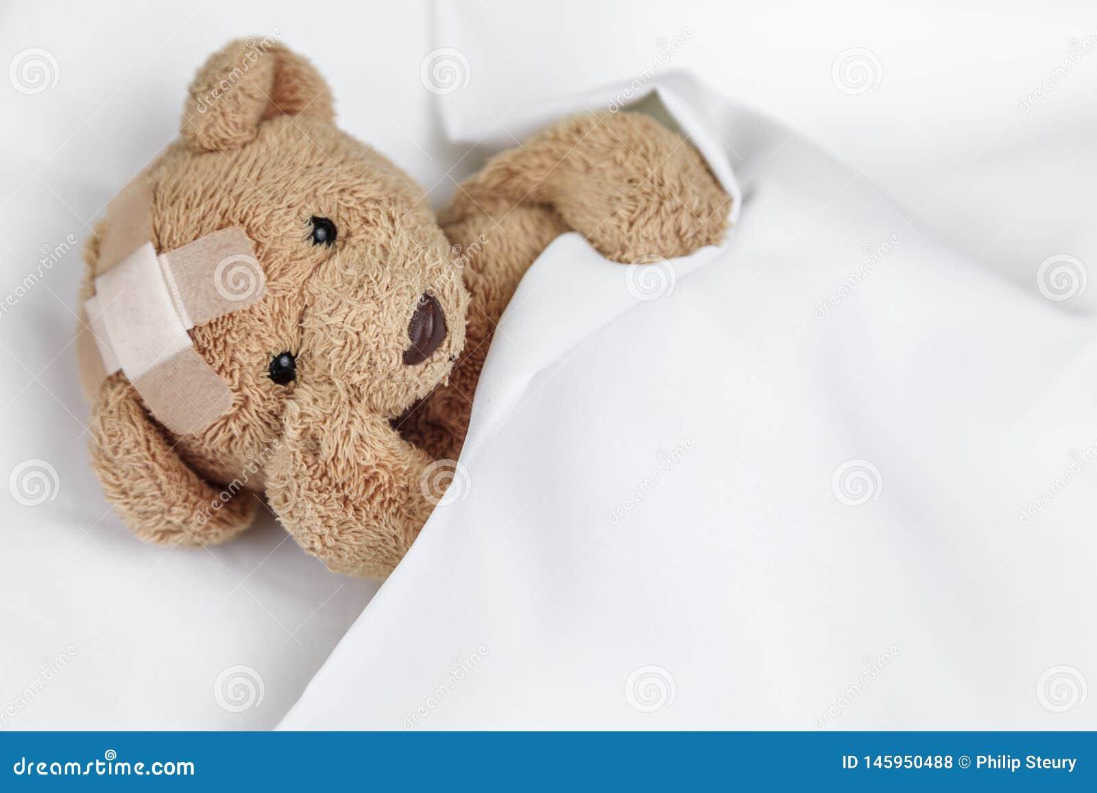 Slechte Zieke Teddy