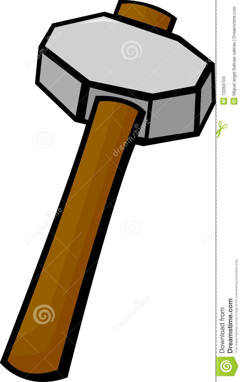 Sledgehammer Vector Illustration Stock Images - Image ...