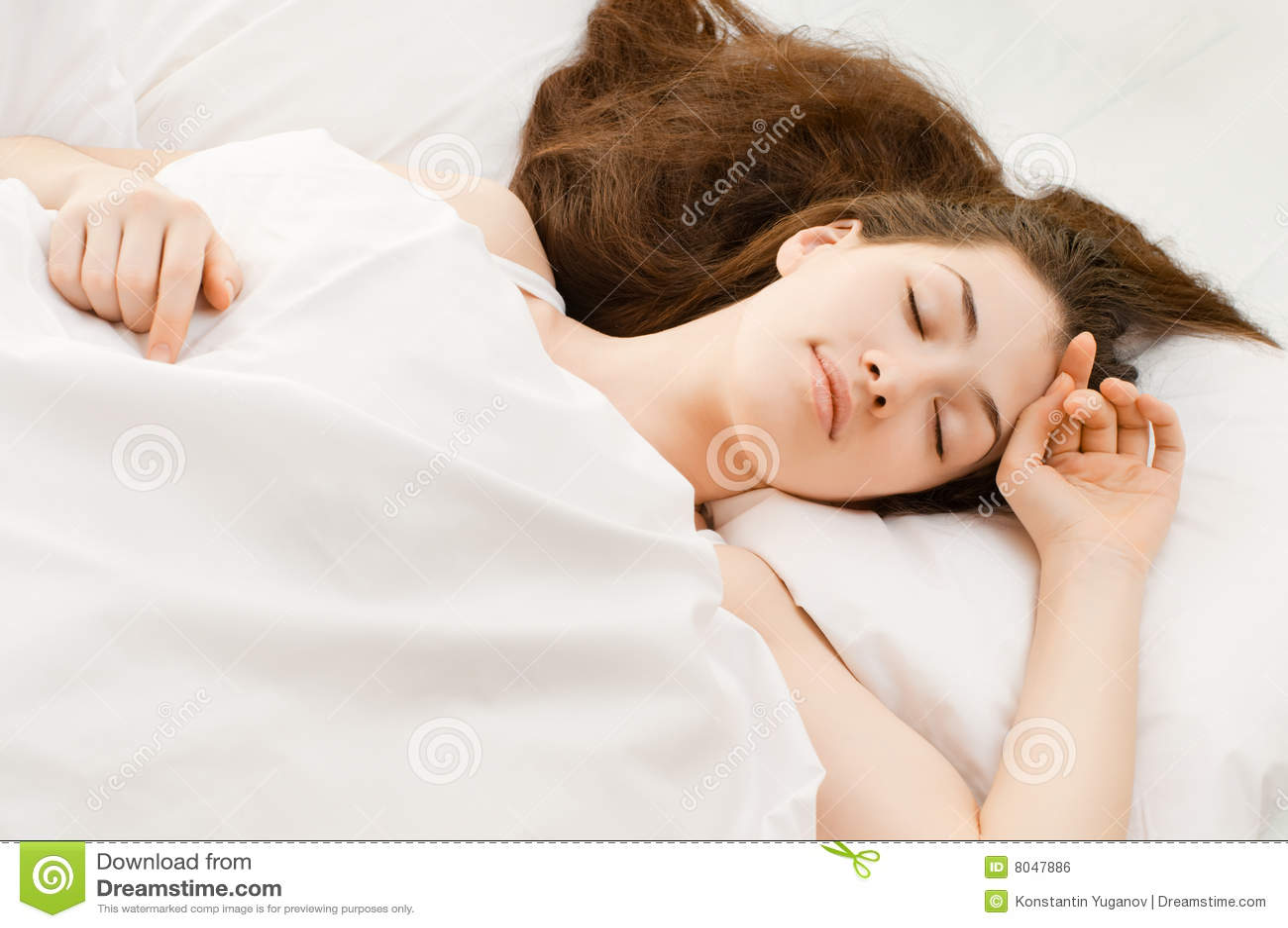 Sleep stock photo. Image of people, human, morning, head