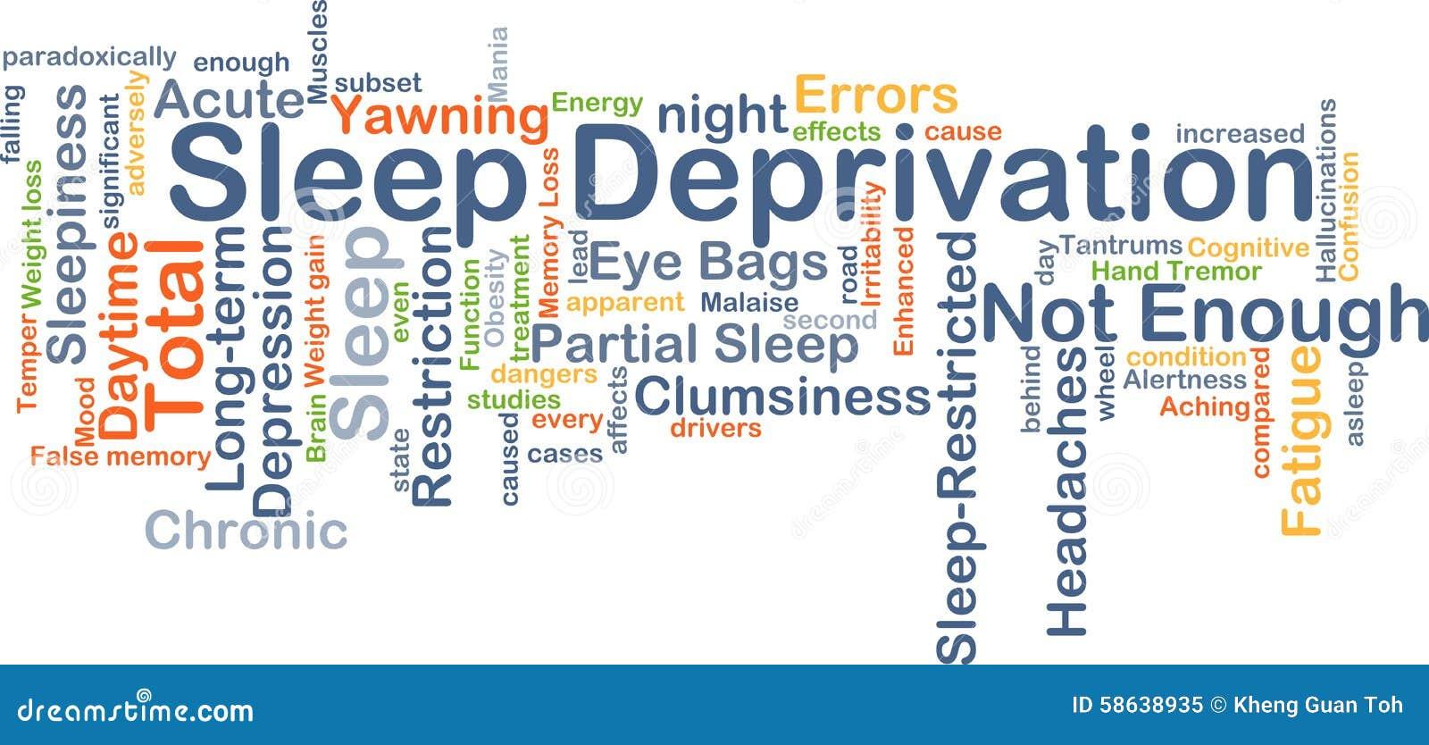 illustration essay on sleep deprivation