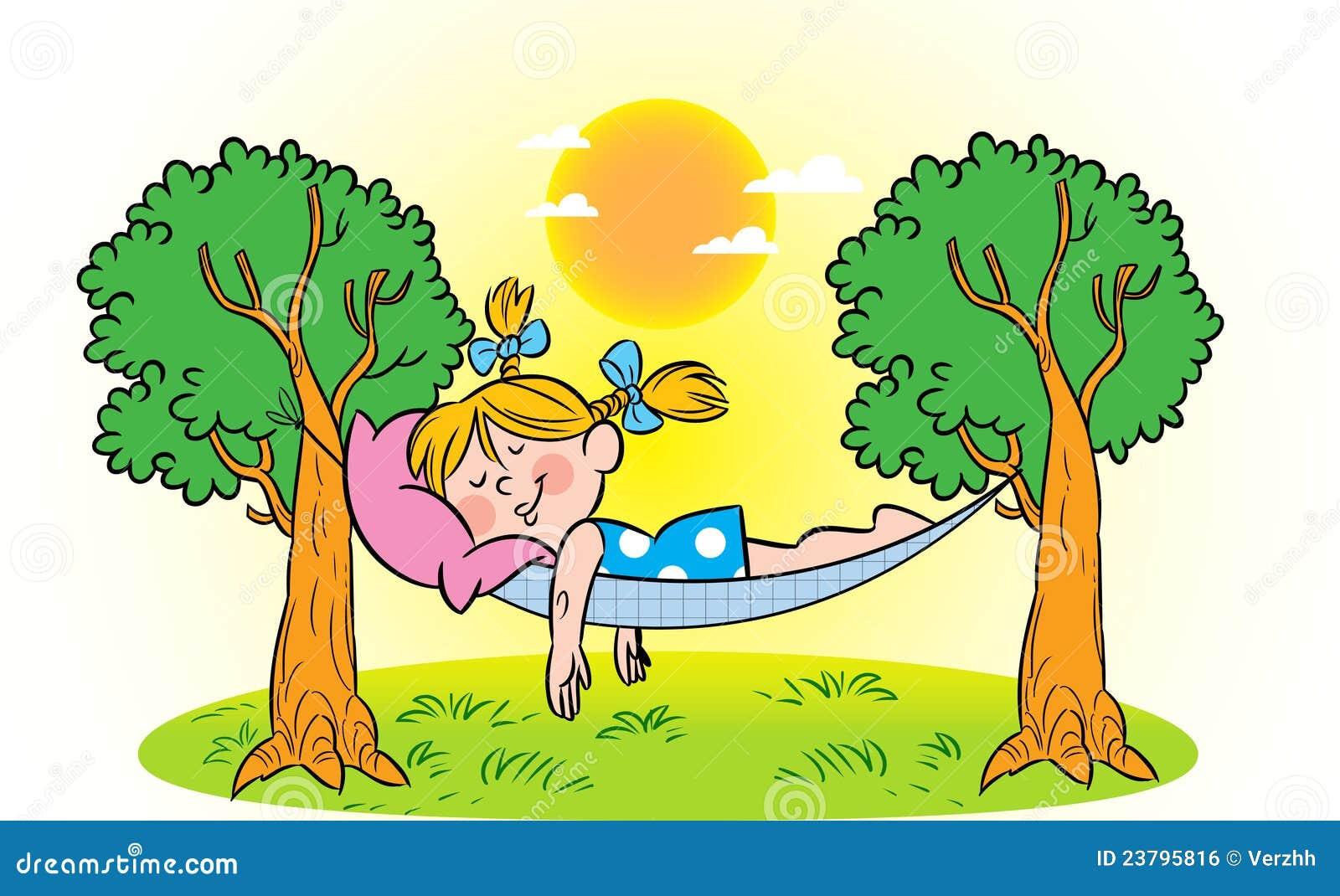 free clipart hammock cartoon - photo #29