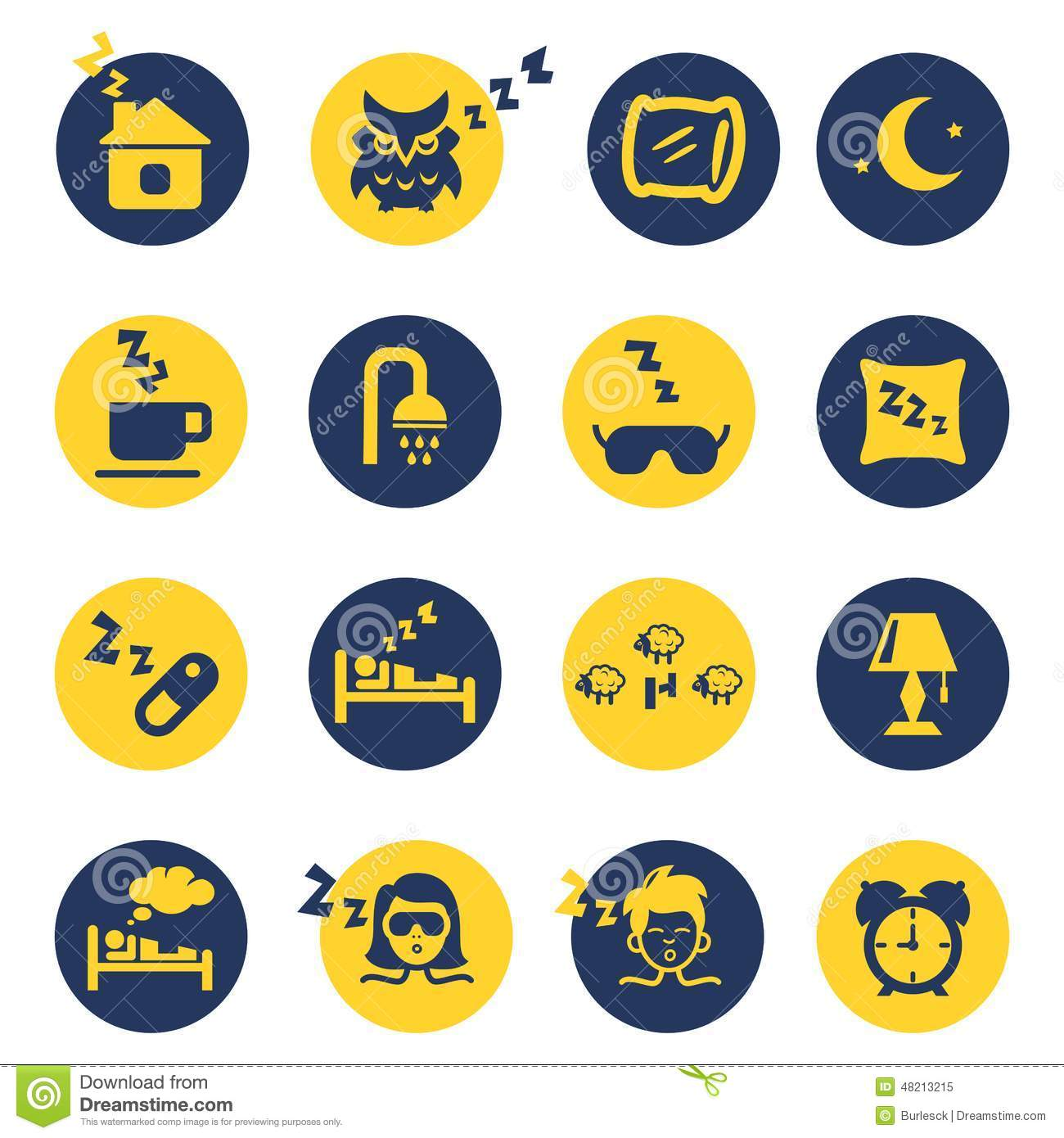 sleep and insomnia icons stock vector image 48213215 picnic clip art images free picnic clip art pictures