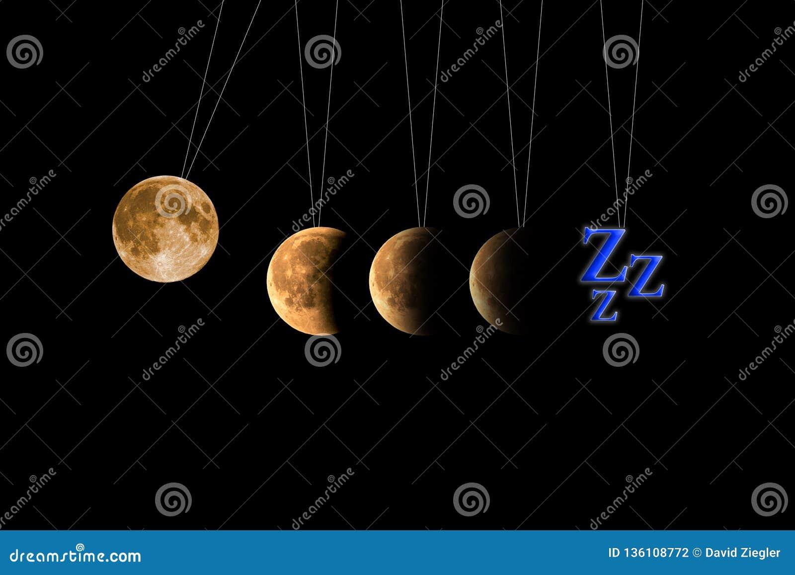 Sleep insomnia stock illustration  Illustration of full - 136108772