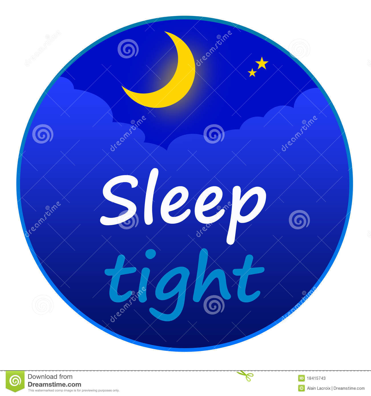 Clipart Good Night