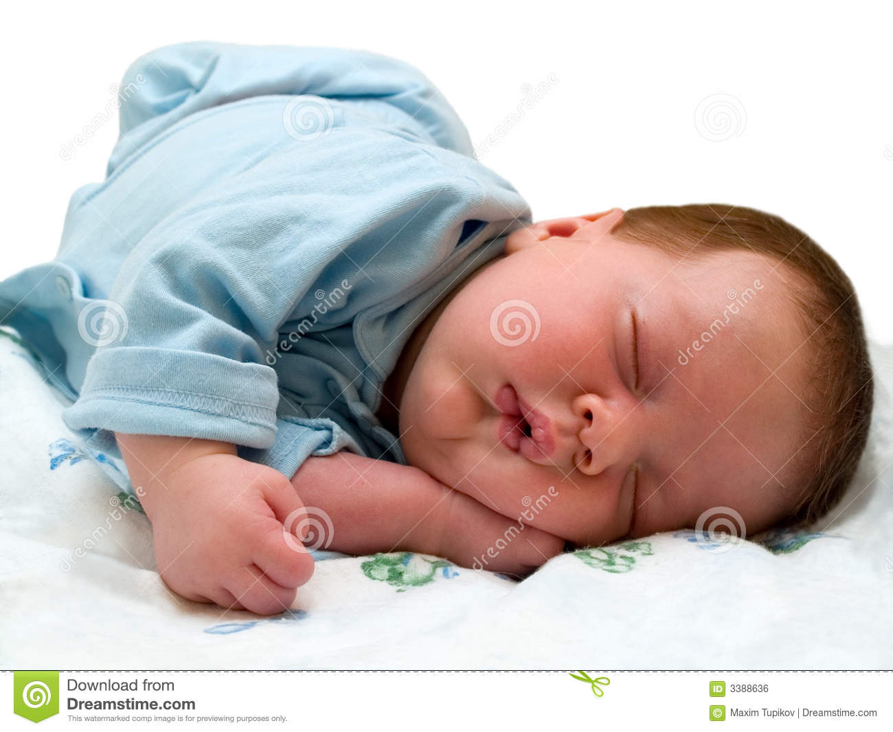 Sleeping Angel Royalty Free Stock Image - Image: 3388636