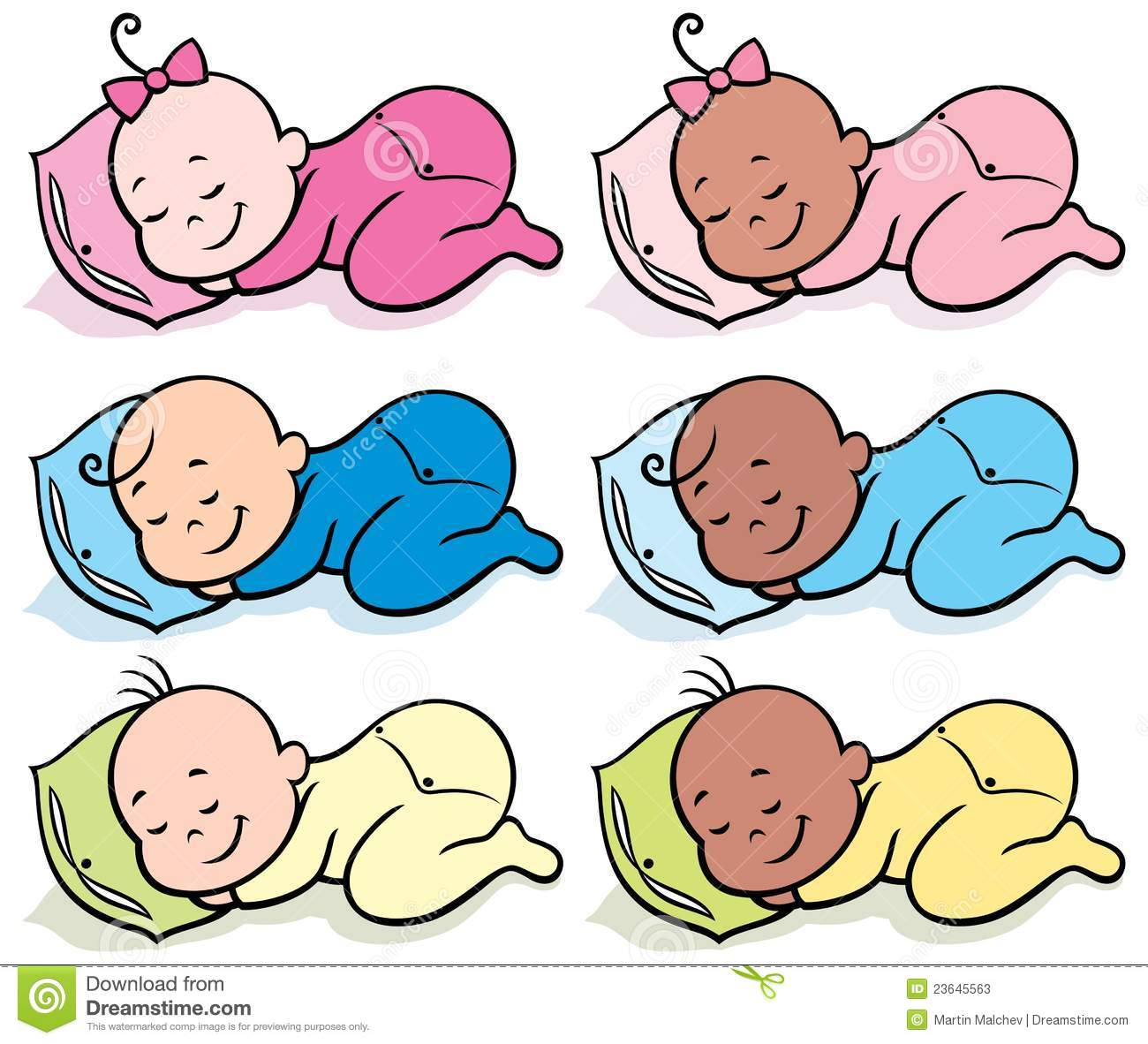 sleeping babies stock illustrations 332 sleeping babies stock rh dreamstime com sleeping baby boy clipart sleeping baby girl clipart