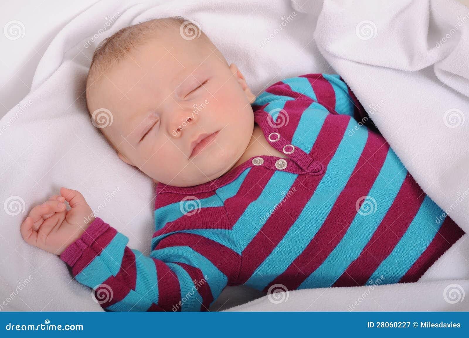 Sleeping Baby Royalty Free Stock Photography Image 28060227