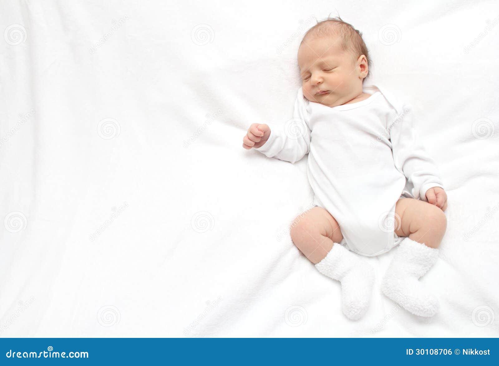 Sleeping Baby Royalty Free Stock Image - Image: 30108706