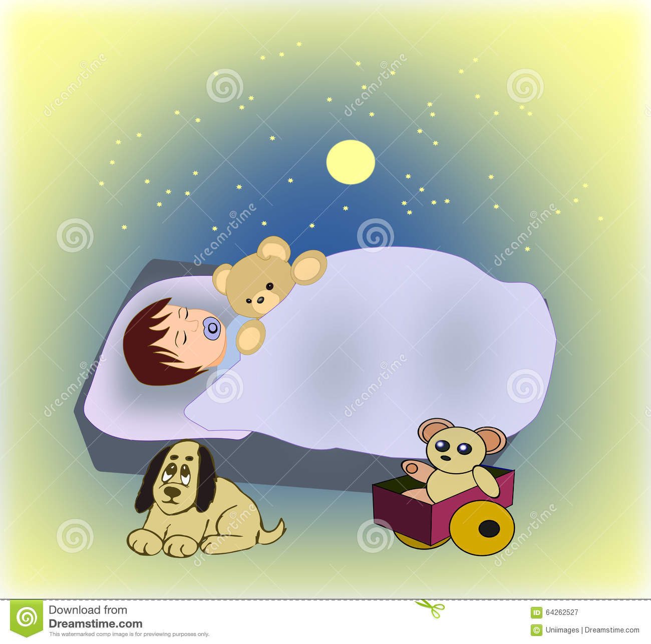 an illustration of a little newborn boy in santa s hat sleeping stock new fashions