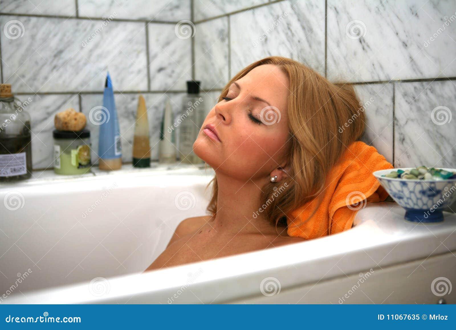 Sleeping in the Bath