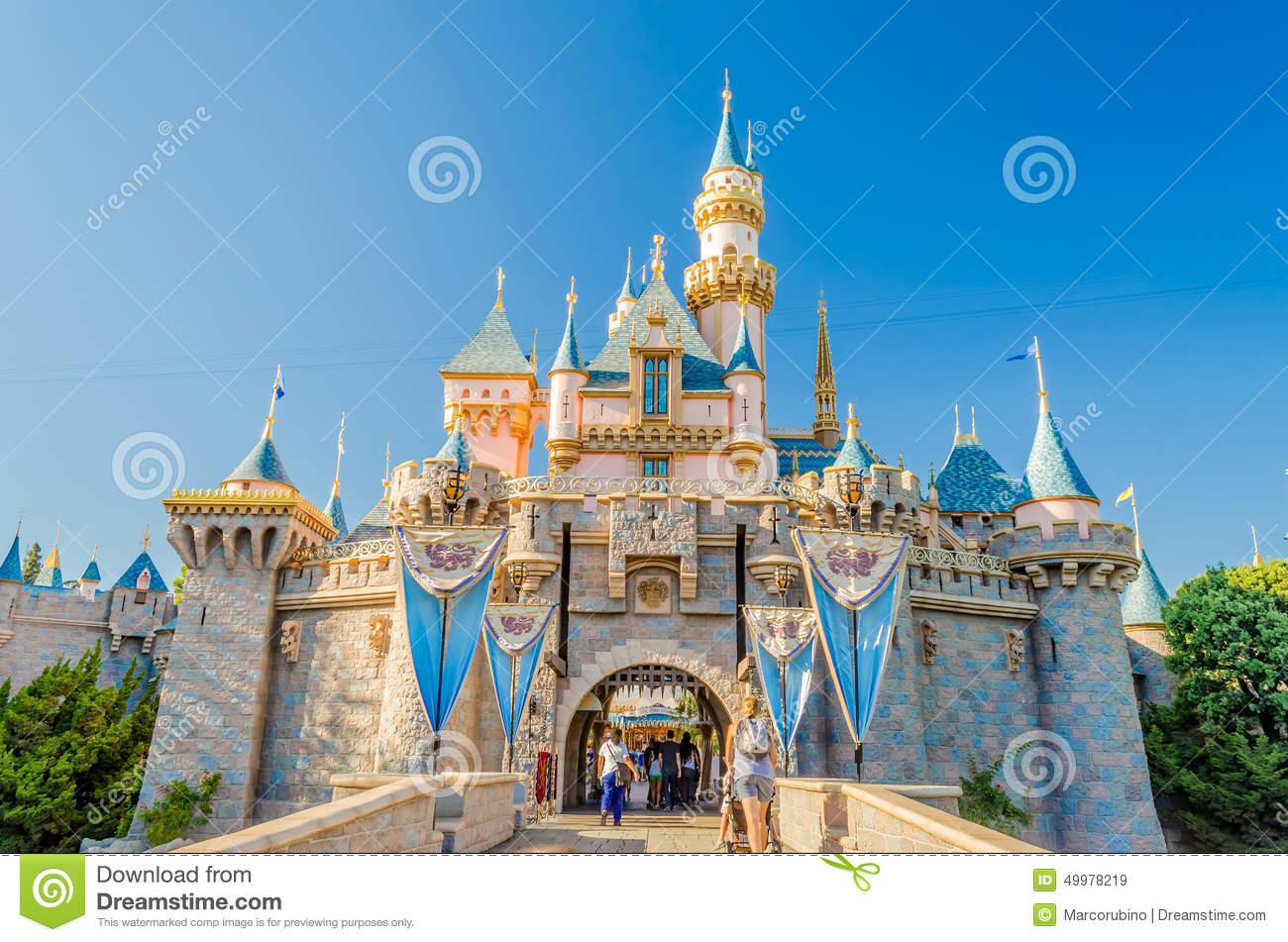 sleeping beauty castle at disneyland park editorial stock sleeping beauty clipart sleeping beauty clipart black and white