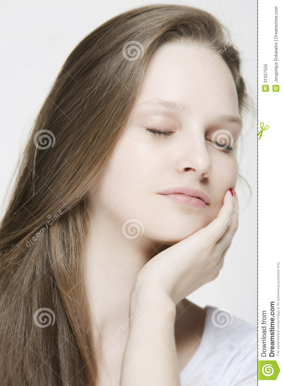Sleeping Beauty Stock Image Image Of Care Attractive 31027555