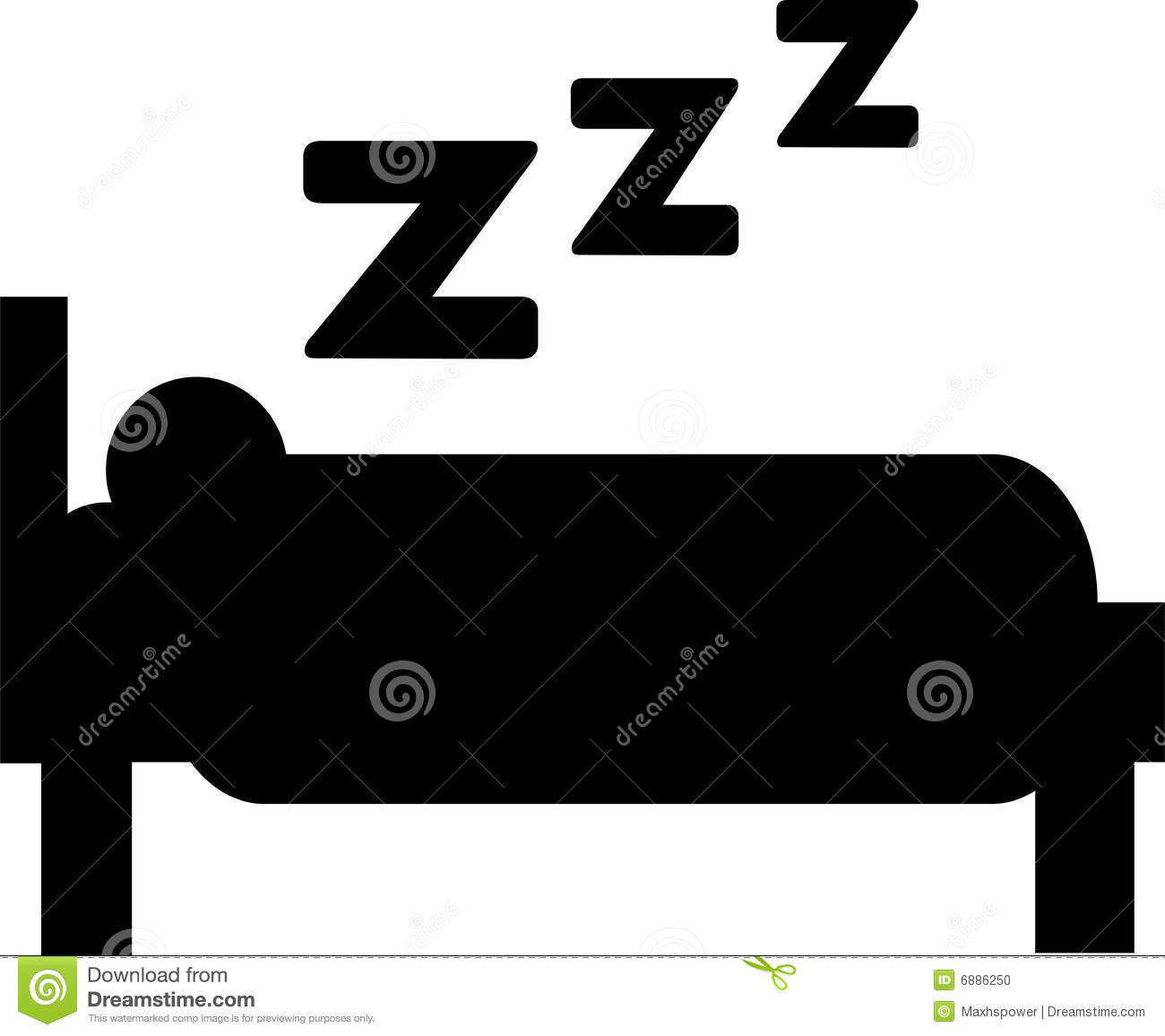 Sleeping - Bed Stock Photo - Image: 6886250
