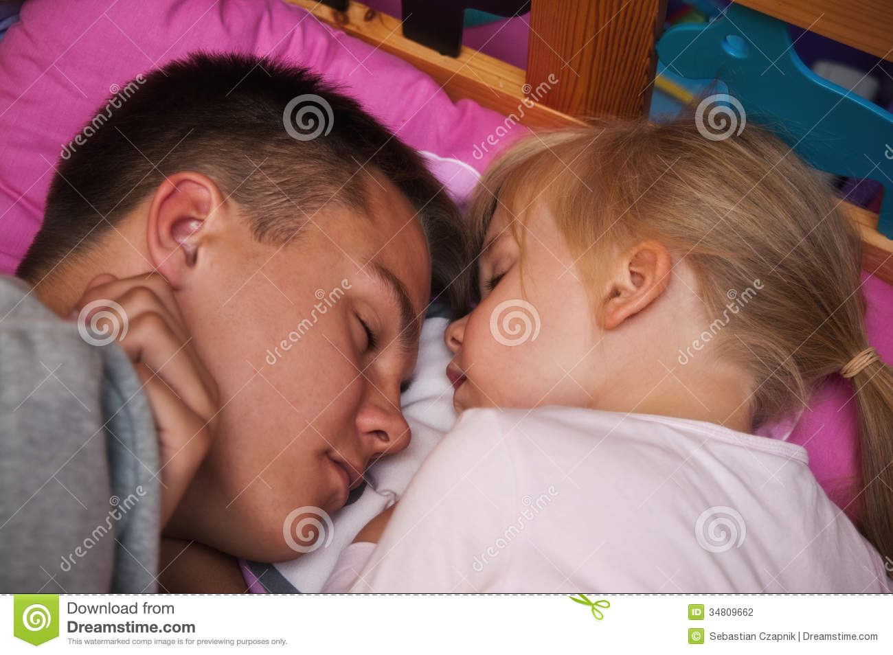 2 Sister Sleep With Brother