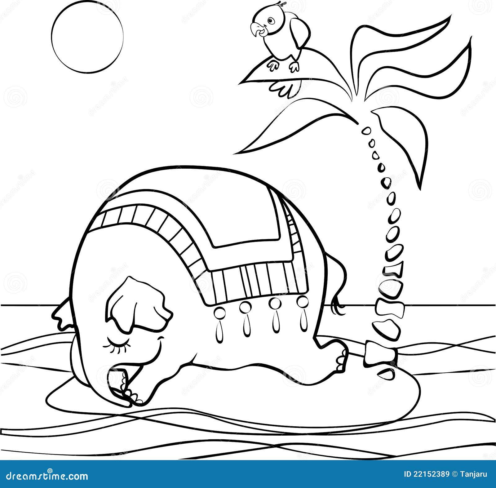 Sleeping Elephant Royalty Free Stock Images - Image: 22152389